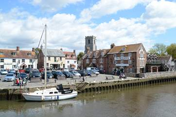 The market town of Wareham gateway to the Jurassic coast has much to offer, including kayak hire, summer boat trips to Brownsea Island or just sit and watch the world go by.