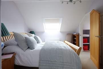 Bedroom 3 is on the second floor and has an en suite shower-room.