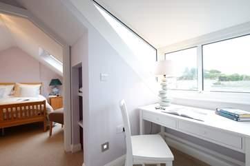 Bedroom 3 has plenty of space.