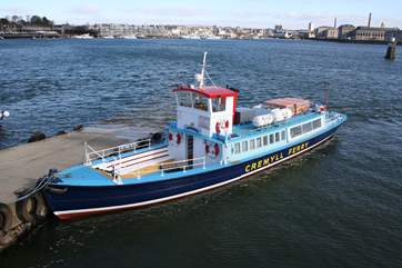 The Cremyll ferry.