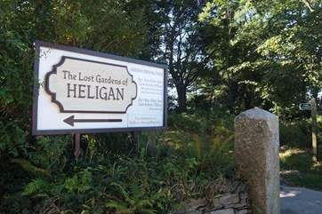 The Lost Gardens of Heligan are just outside the village.