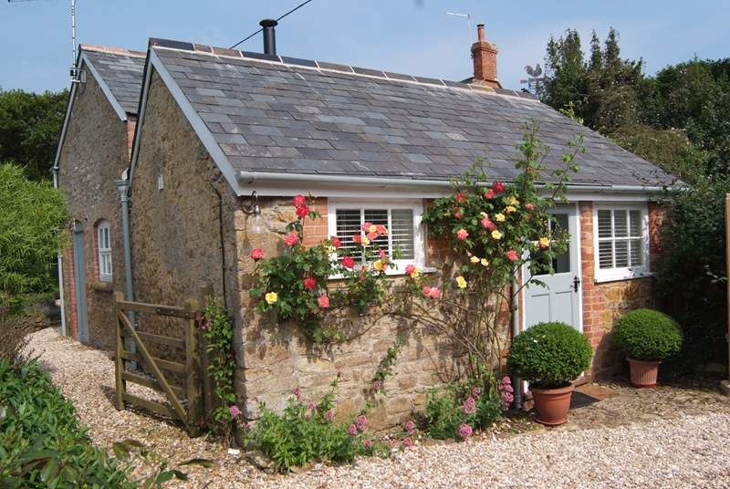 The Coach House - a beautiful detached cottage just for two.