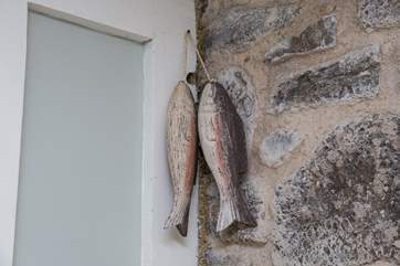 Quirky touches are found throughout the cottage.