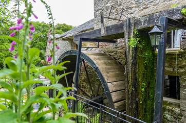 The working water mill