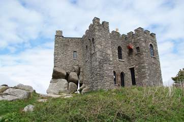 Parts of Carn Brea Castle date back to the 14th Century.