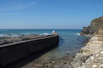 Portreath is worth a visit at any time of the year, in or out of the water.