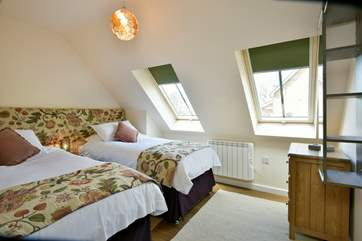 All three bedrooms have super-king sized 6ft beds that can be made up as 3ft twins on request.