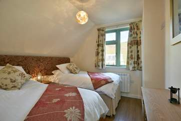 Another of the double bedrooms - you are spoilt for choice here.