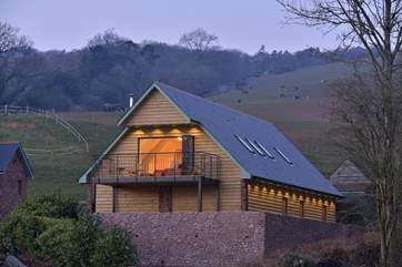 This beautiful brand new lodge is a haven of luxury right on the edge of the Quantock Hills Area of Outstanding Natural Beauty.