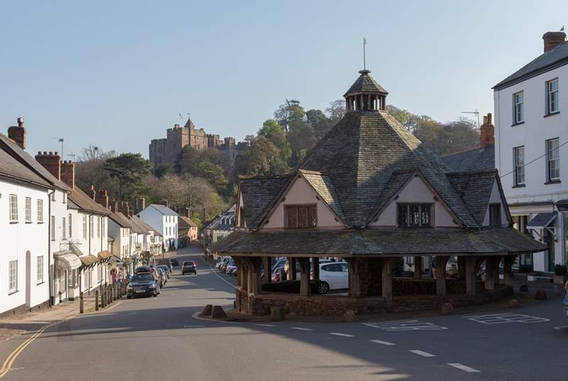 The historic village of Dunster, with its National Trust castle is a fabulous place to visit.