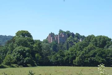 Dunster Castle towers above this unique medieval town, a stone's throw from the coast.