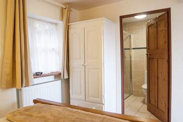 The shower-room is en suite to the bedroom.