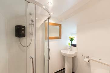 This is the ground floor shower-room, accessed via the kitchen.
