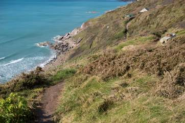 One of the paths down to the beach.