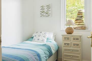 The smallest bedroom has a 2ft 6 bed suitable for a child.