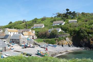 The unspoilt Cadgwith Cove on the Lizard peninsula, drive there or take the coast path if you are feeling engergetic!
