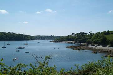 There are also some wonderful places to explore on the Helford River.