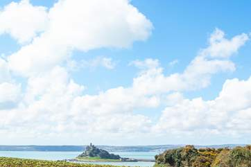 A footpath leads from the property to Marazion and St Michael's Mount.