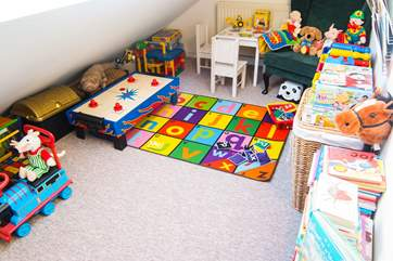 Toys, books, games, playmat....everything a toddler could possibly require!