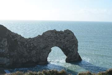 Further along the Jurassic Coast Durdle Door is a 'must 'have holiday shot.