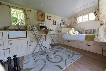 Fully equipped with everything you will need for your luxury glamping holiday.