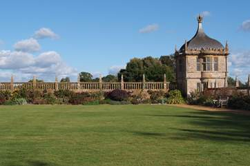 All the National Trust houses have wonderful gardens and walks too.