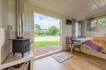 Set in an enclosed paddock there is plenty of space for your four-legged friend too.