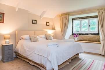 Bedroom 1 is very spacious...