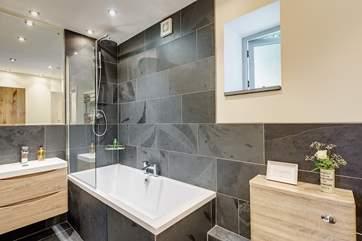 En-suite bathroom to bedroom 1.