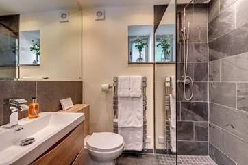 En-suite shower-room to bedroom 2.