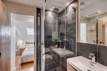 Luxury en-suite.