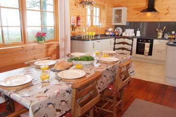 This is a wonderful family holiday house with a friendly open plan feel to the ground floor.