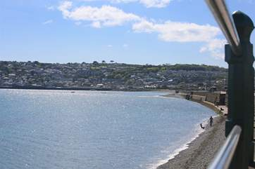 A view over Mounts Bay.