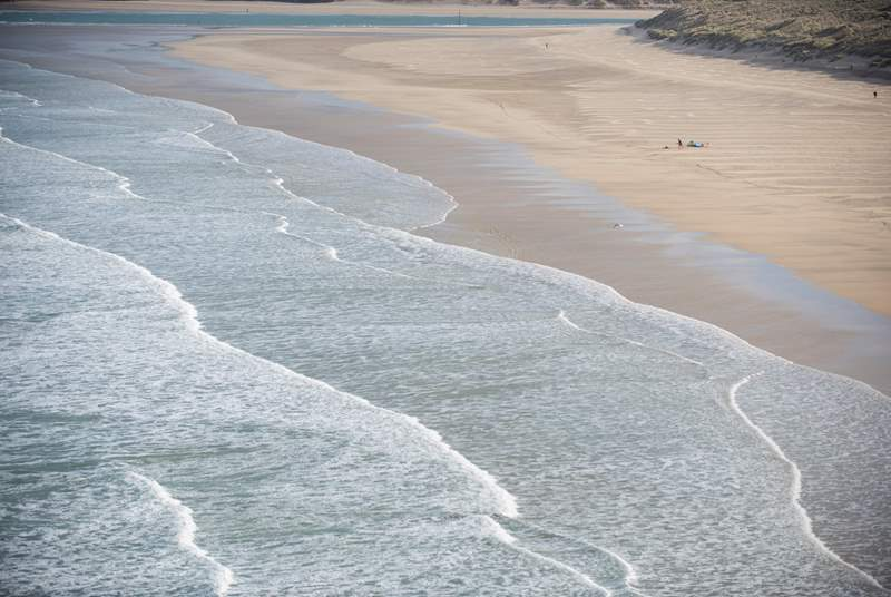 Golden Sands and blue seas are on your doorstep.
