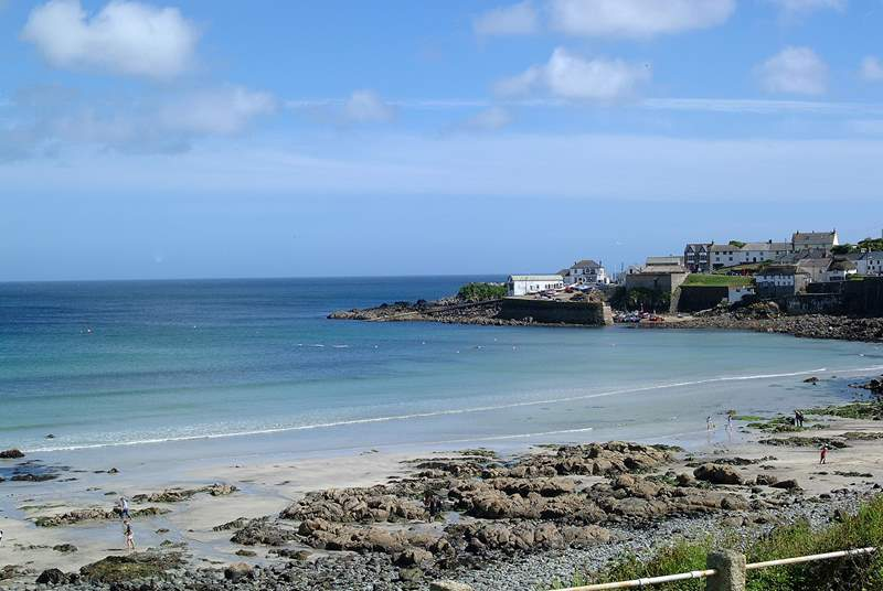 Picturesque Coverack is just a short drive away.