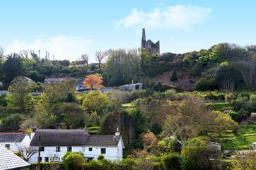 You can enjoy the spectacular views across to 'Wheal Friendly' from both inside and outside the cottage.