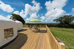 Rosewood Yurt - Holiday Cottage - 6.9 miles E of Bude