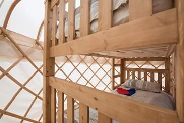 The cosy bunk bedroom.