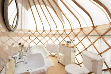 This is definitely luxury glamping at it's best!