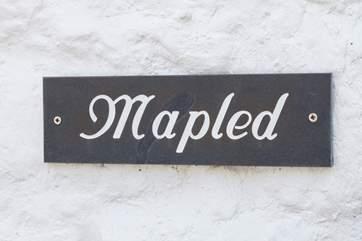 Lovely Mapled Cottage.