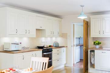 The kitchen leads through to the utility-room where you will find the fridge/freezer, washing machine and tumble-drier.