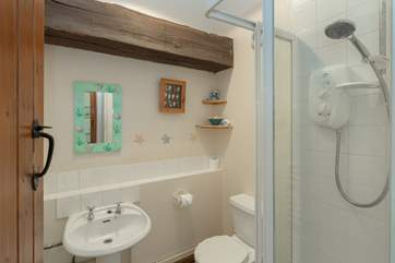This is the  shower room.