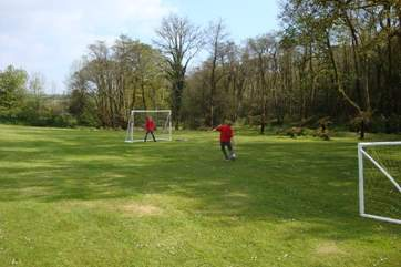 The perfect way to tire any football fanatics, the only squabble is who is going in goal!