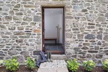 Ida's front door.