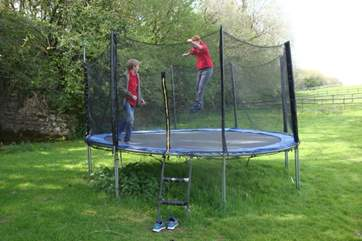 Or you could bounce the day/night away, all good fun on your doorstep. Especially for the children!
