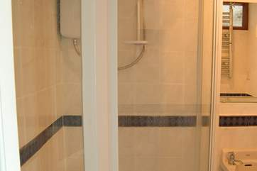 The ground floor shower-room.