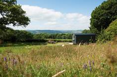 Stargazy Sky Shepherd's Hut - Holiday Cottage - 3.8 miles NW of Lyme Regis