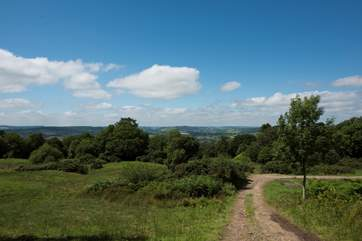 You are welcome to wander the grounds of Wykeleigh which has the most fabulous views from most spots.