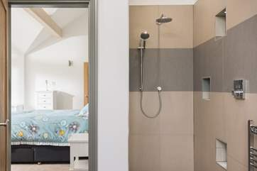 The master bedroom en suite shower-room.