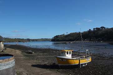 Walking around Helford at high or low tide, this is a beautiful area with great pubs.